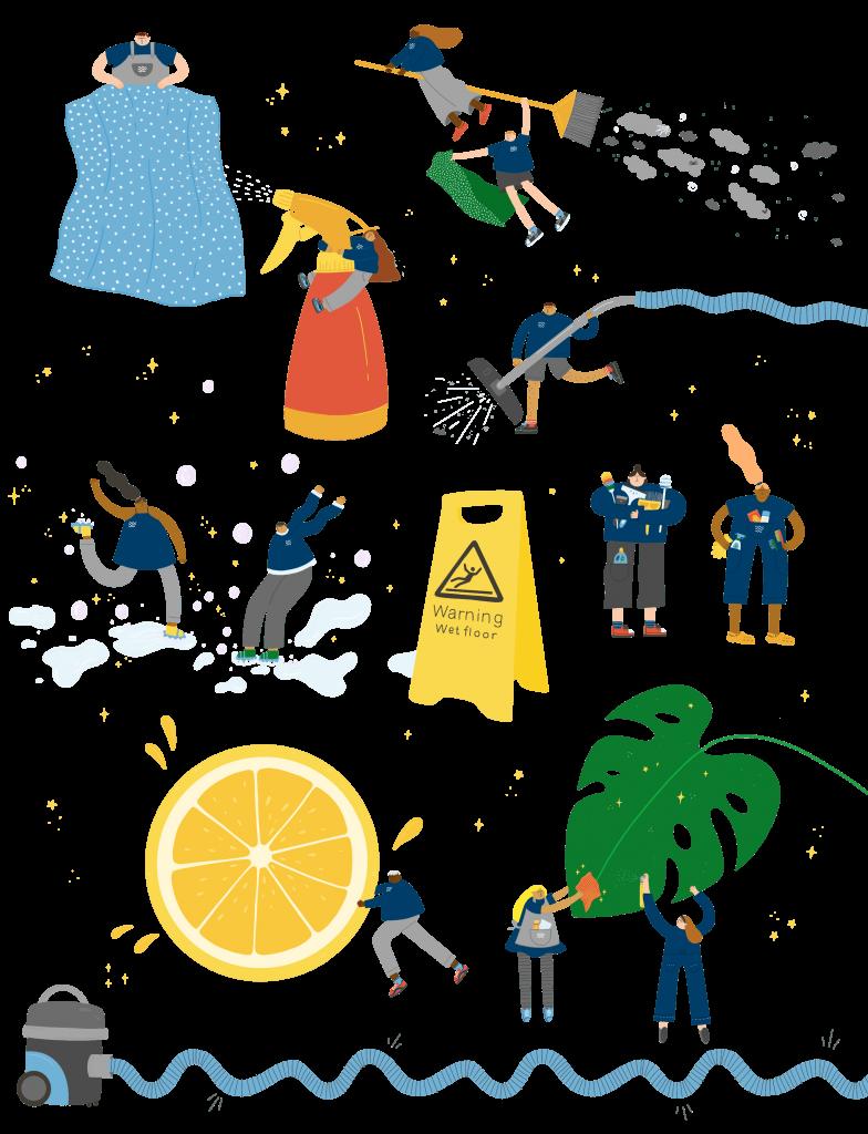 Georgia-mason-illustrations-passmore-cleaning