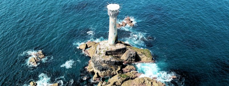 sennen-lighthouse-cornwall-arial-sunny